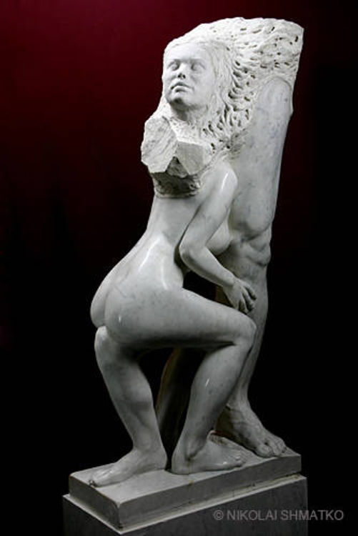 Enjoyment by Nikolai Shmatko - search and link Sculpture with SculptSite.com