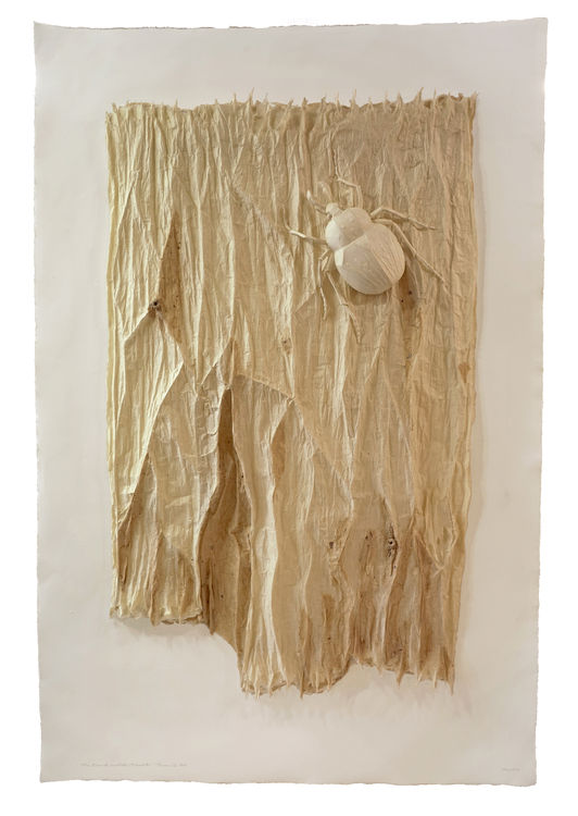 Bark and Beetle by Ray Besserdin - search and link Sculpture with SculptSite.com