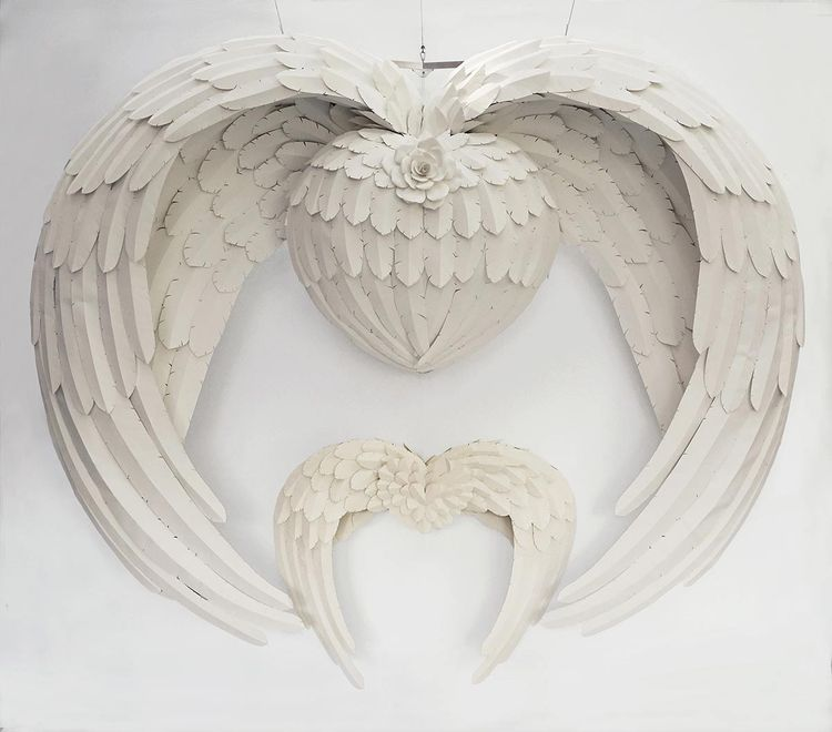 Mother's Heart by Ray Besserdin - search and link Sculpture with SculptSite.com