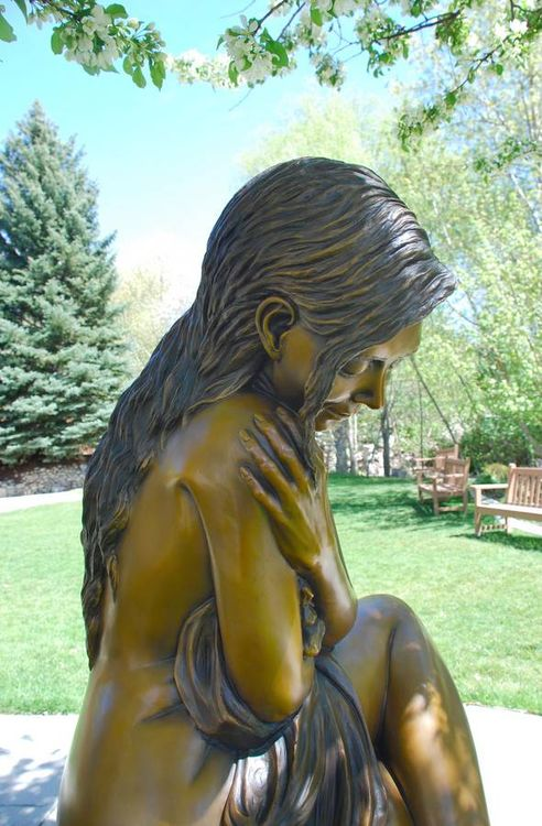 SOLITAIRE by J. Anne Butler - search and link Sculpture with SculptSite.com