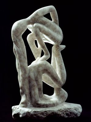 Amnon and Tamar by Shimon Drory - search and link Sculpture with SculptSite.com