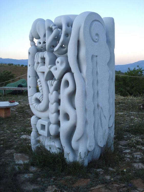 marble view by Stefan Van Der Ende - search and link Sculpture with SculptSite.com