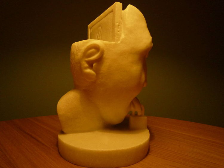 Censorship 21st Century by Panteleimon Souranis - search and link Sculpture with SculptSite.com