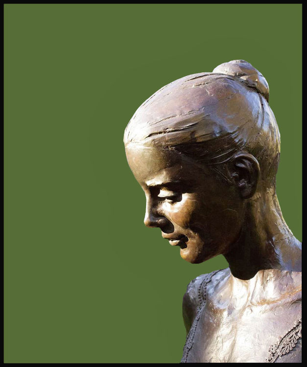 Balanchine's-Dancer-Elise-Gillet-Boyce by Sterett-Gittings Kelsey - search and link Sculpture with SculptSite.com