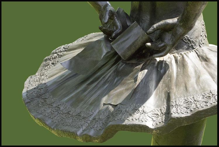 Balanchine's-Dancer-Elise-Gillet-Boyce by Sterett-Gittings Kelsey - search and link Sculpture with SculptSite.com