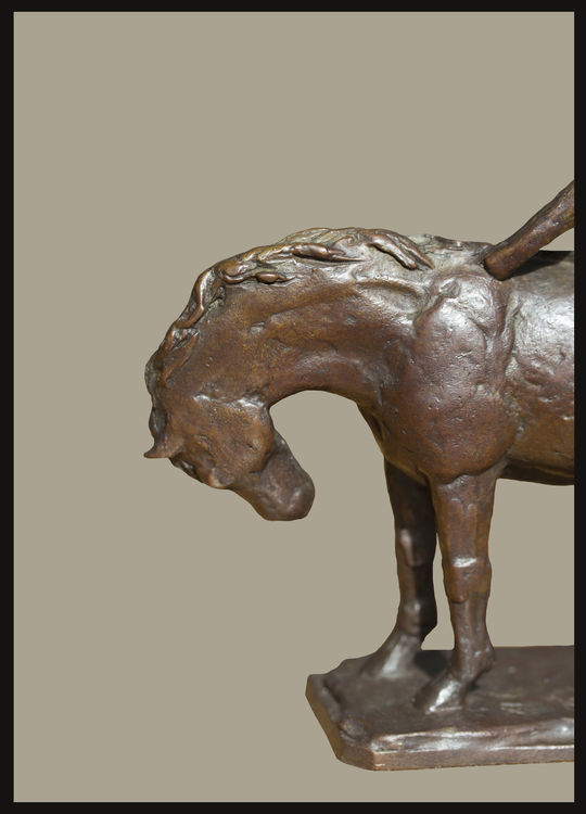 Lady-Gittings and Colt-45 by Sterett-Gittings Kelsey - search and link Sculpture with SculptSite.com