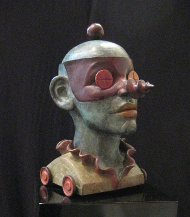 Screwball  by Claudia Cohen - search and link Sculpture with SculptSite.com