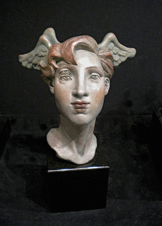 Doubletake by Claudia Cohen - search and link Sculpture with SculptSite.com