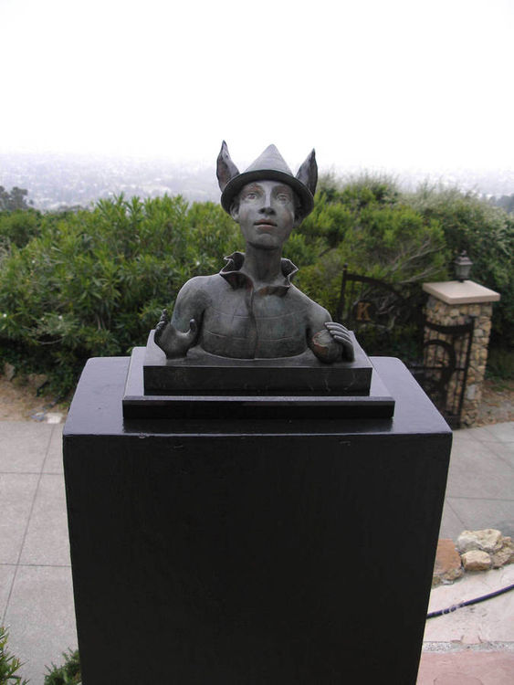 The Caretaker by Claudia Cohen - search and link Sculpture with SculptSite.com