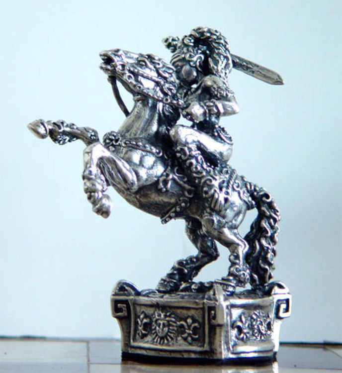 AMAZON   CHESS  SET by Tigran Sarkisyan - search and link Sculpture with SculptSite.com
