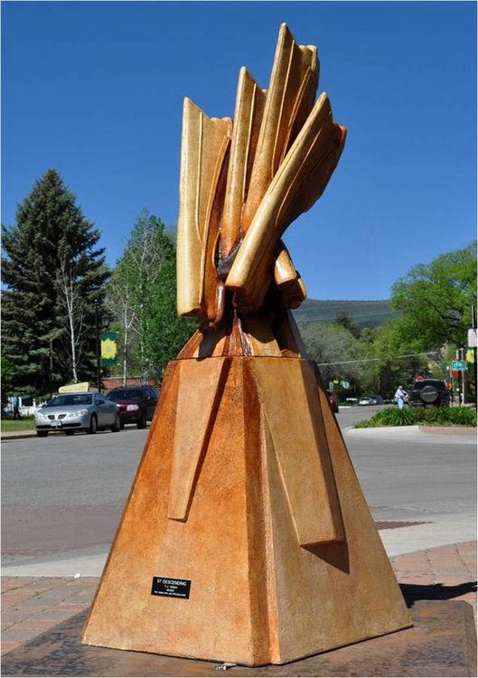 57 Descending by Tj Aitken - search and link Sculpture with SculptSite.com