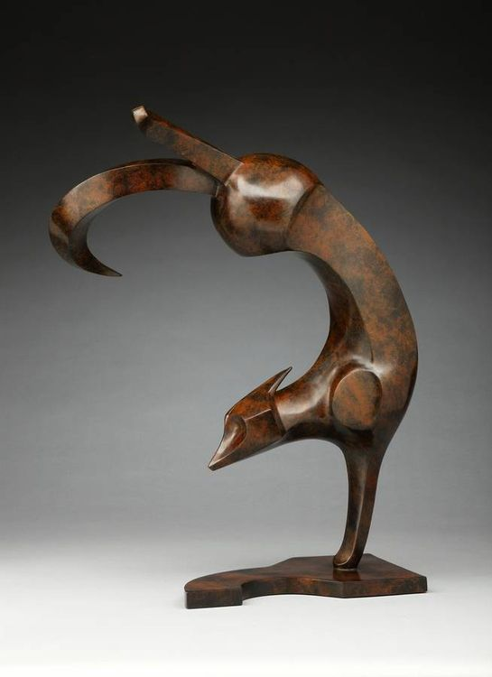 Foxy Lady by Georgene McGonagle - search and link Sculpture with SculptSite.com