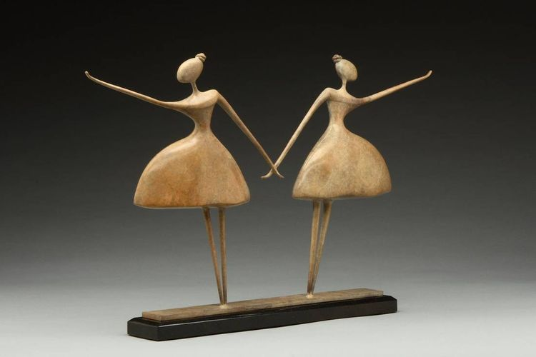 Blithe Spirit II by Georgene McGonagle - search and link Sculpture with SculptSite.com