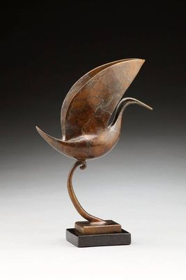 Halcyon II by Georgene McGonagle - search and link Sculpture with SculptSite.com