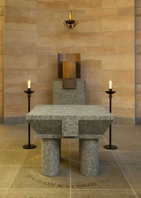 St. Thomas More Chapel by Alexander Tylevich - search and link Sculpture with SculptSite.com