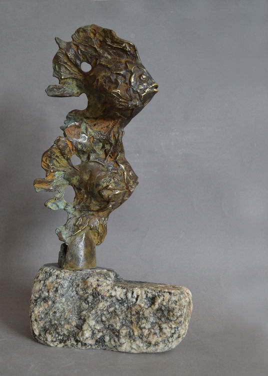Uder the sea by Ventsislav Markov - search and link Sculpture with SculptSite.com