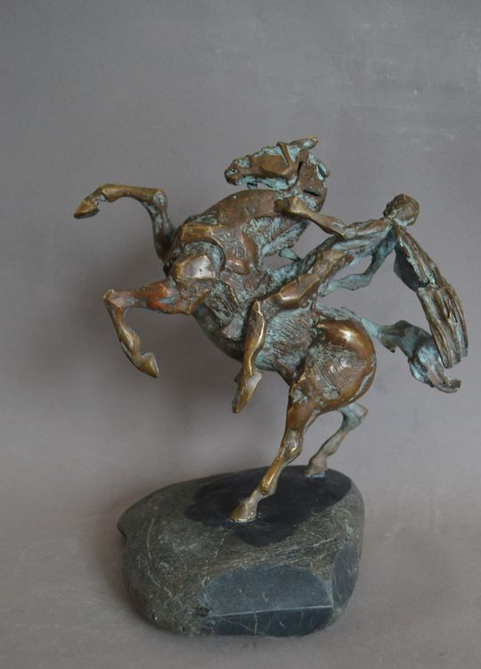 Rider by Ventsislav Markov - search and link Sculpture with SculptSite.com