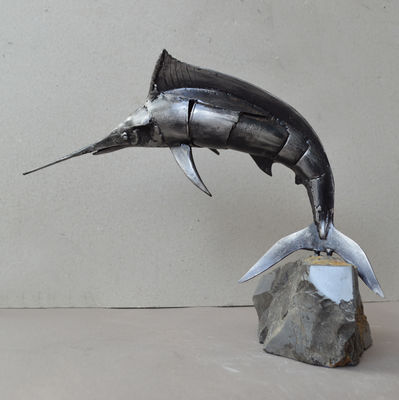 Blue Marlyn by Ventsislav Markov - search and link Sculpture with SculptSite.com
