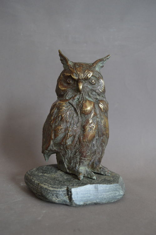 Owl by Ventsislav Markov - search and link Sculpture with SculptSite.com