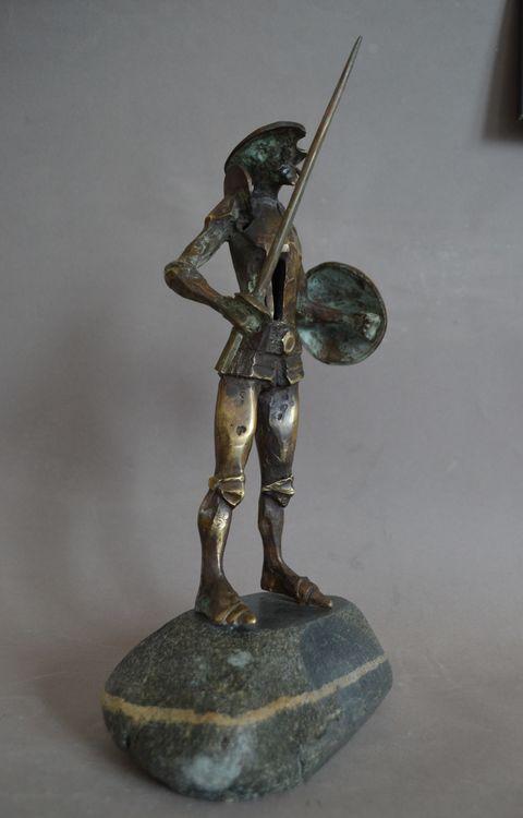 Don Quixote by Ventsislav Markov - search and link Sculpture with SculptSite.com