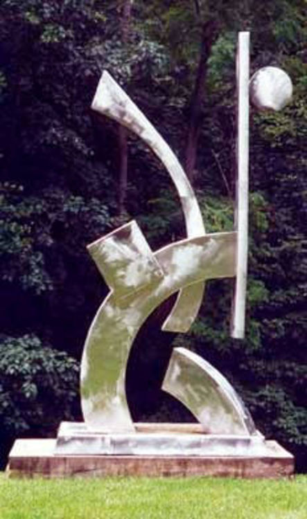 Up and Over by Wayne Trapp - search and link Sculpture with SculptSite.com