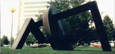 Pierced Disc by Wayne Trapp - search and link Sculpture with SculptSite.com